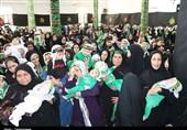 مراسم شیرخوارگان حسینی در کهگیلویه و بویراحمد برگزار شد + تصاویر