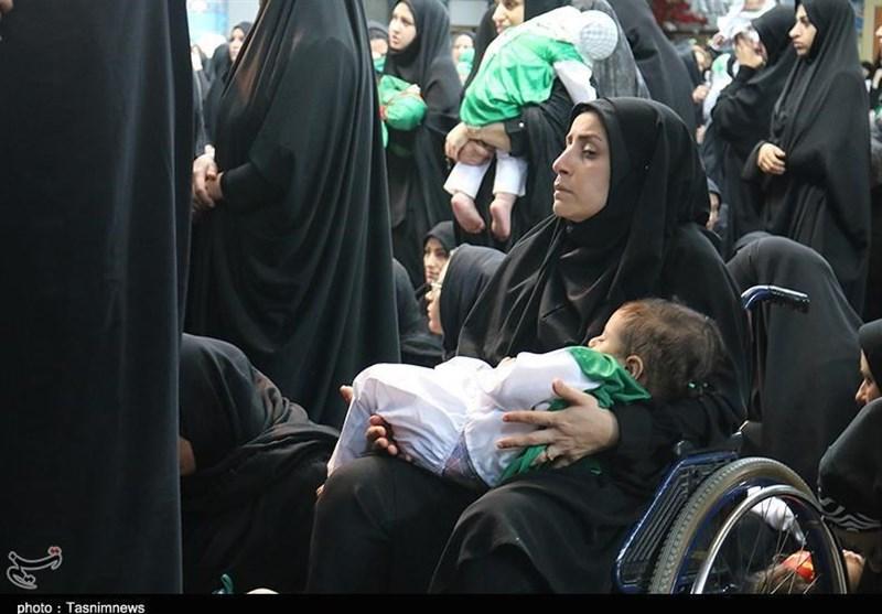 گزارش تسنیم از عاشقانههای مادرانه با شیرخوارگان عاشورایی در استان تهران+فیلم