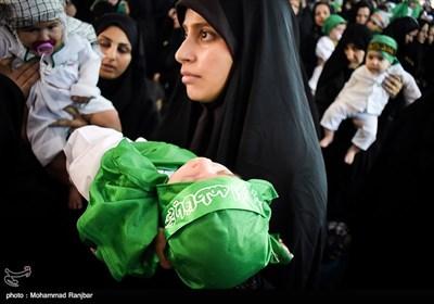 همایش شیرخوارگان حسینی در رشت