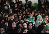 همایش عظیم شیرخوارگان حسینی همزمان با سراسر کشور در زنجان برگزار شد+ تصاویر