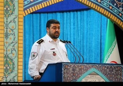 دکتر پیر حسین کولیوند رئیس سازمان اورژانس کشور در نماز جمعه تهران