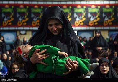همایش شیرخوارگان حسینی درقزوین