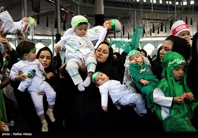 همایش شیرخوارگان حسینی در اراک