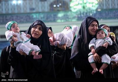 همایش شیرخوارگان حسینی در شهر ری