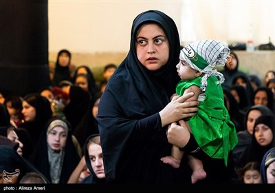 همایش شیرخوارگان حسینی در لامرد