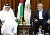 فلسطین|دیدار سفیر قطر با اسماعیل هنیه/ هشدار حماس درباره پیامدهای همراهی با توطئههای آمریکا