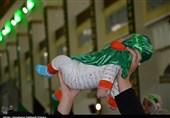 آئین شیرخوارگان حسینی در فهرج یزد برگزار شد