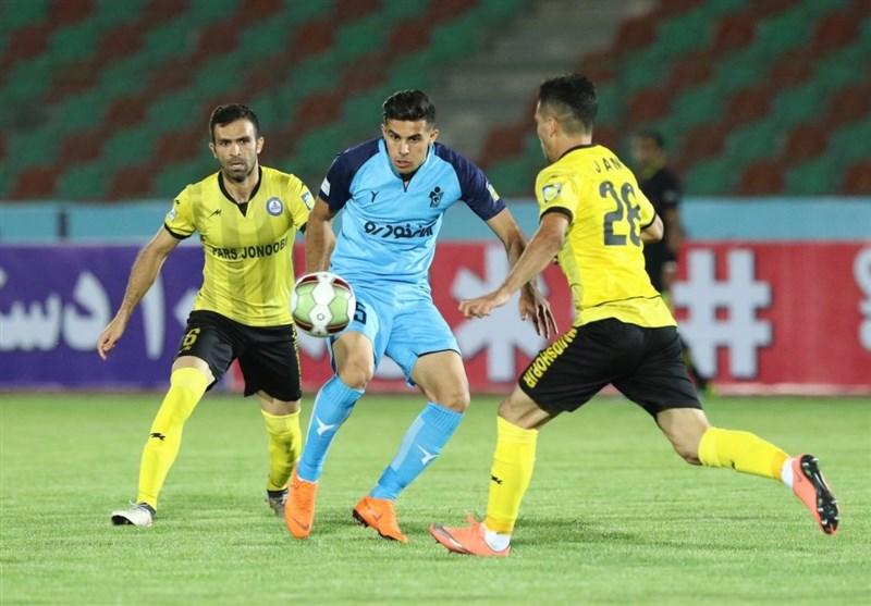 بوشهر| تیم پارس جنوبی 3 امتیاز بازی با پیکان را کسب میکند
