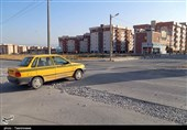 معابر خاکی حاشیه شهر بجنورد تا 3 ماه آینده آسفالت میشود