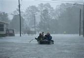 توفان فلورنس هزاران آمریکایی را محاصره کرد + عکس و فیلم