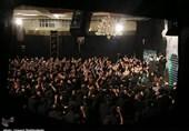مراسم عزاداری هیئت رزمندگان اسلام قم به روایت تصویر