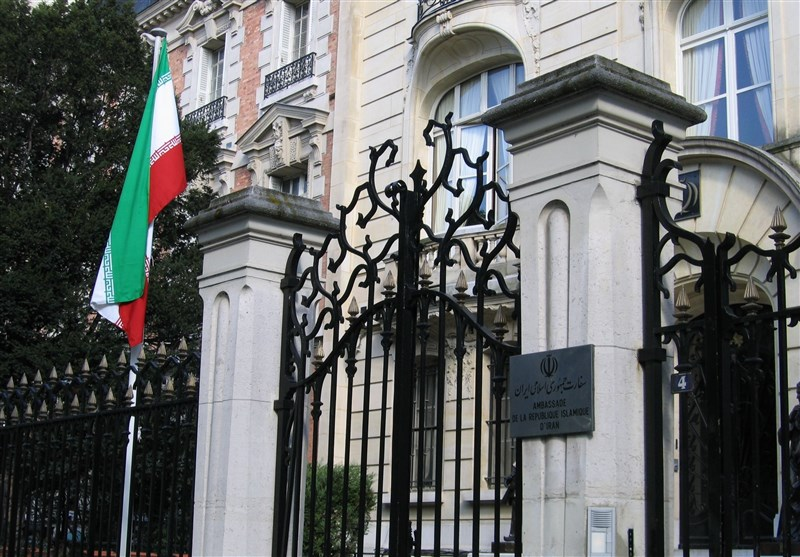 سفارت فرانسه: تمهیداتی برای تقویت امنیت سفارت ایران در پاریس اتخاذ شده است