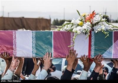 مراسم استقبال از 9 شهید گمنام دفاع مقدس- تبریز