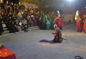 """تعزیه """"بازار شام"""" در بیرجند اجرا شد"""