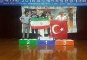 16 مدال رنگارنگ برای آتشنشانان تهرانی در مسابقات جهانی کره + تصاویر