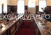 ملاقات وزیر خارجه پاکستان با اشرف غنی و صلاح الدین ربانی