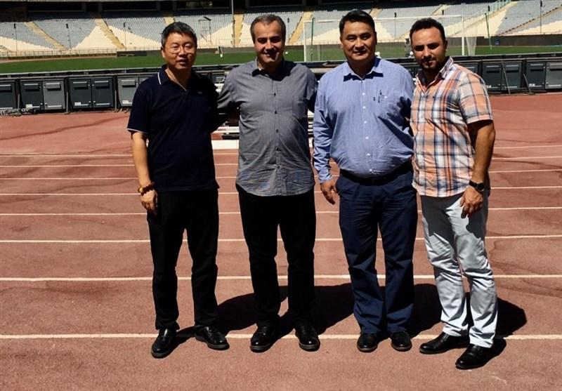 بازدید نمایندگان AFC از ورزشگاه آزادی