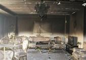 آتشسوزی در مجتمع مسکونی 13 طبقه + تصاویر