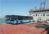 نخستین محموله خودرو از امیرآباد به تاجیکستان ترانزیت شد
