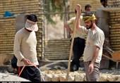 """کار """"دلی"""" جهادگران بسیجی دیار علویان جهت ساخت خانههای محرومان+فیلم"""