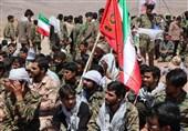 """تسنیماز """"رزمایش خدمت"""" در پایتخت وحدت ایران گزارش میدهد"""
