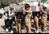 مراسم وداع با شهدای گمنام در یگان ویژه پلیس خراسان رضوی برگزار میشود