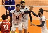 ایران تفوز على کوبا فی بطولة العالم لکرة الطائرة