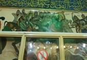 وقتی دیوارها واقعه کربلا را روایت میکنند؛ نقاشیهای 400 ساله  امامزاده شاهزید اصفهان