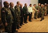 اهواز| تودیع و معارفه فرمانده ارتش در جنوب غرب کشور از دریچه دوربین تسنیم