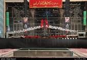 کاشان|گزارش تصویری از ششمین روز محرم در بازار کاشان