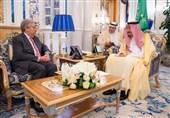 عربستان| گوترش به دیدار ملک سلمان رفت