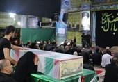 تهران| مراسم وداع با پیکر مطهر شهید غواص در شهریار به روایت تصویر
