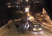 فلسطین|هجوم صدها شهرکنشین صهیونیست به نابلس/ 8 فلسطینی زخمی شدند