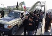 تصاویر مراسم تشییع پیکر 9 شهید گمنام دفاع مقدس در اهواز