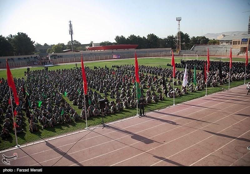 رزمایش اقتدار عاشورایی در کرمانشاه برگزار شد + عکس