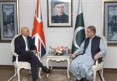 ملاقات «شاه محمود قریشی» و وزیر کشور پاکستانی الاصل انگلیس