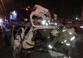 تصادف در محور زنجان-بیجار 5 کشته برجای گذاشت