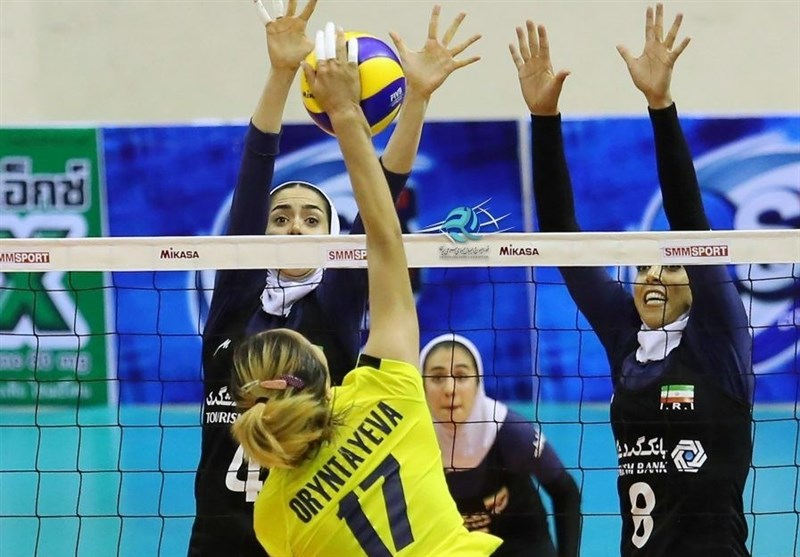Iran Earns Successive Win in AVC Cup for Women