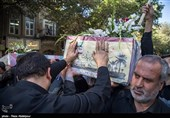 مازندران| پیکر مطهر دو شهید گمنام در نکا آرام گرفت