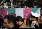 وداع پرشور مردم شهیدپرور شرق مازندران با شهدای گمنام دفاع مقدس