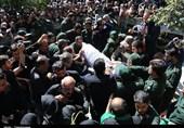 پیکر 11 شهید دفاع مقدس و مدافع حرم در مشهد تشییع شد
