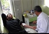 کردستان طرح نذر خون حسینی در بیجار اجرا شد+تصاویر