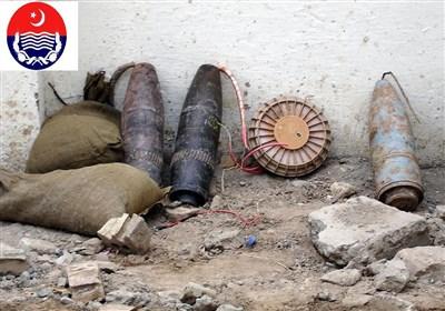 ملک دشمن عناصر کے خلاف کارروائی، عزاداروں پر حملے کا منصوبہ ناکام