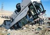 بیاحتیاطی راننده اتوبوس دلیل تصادف خونین در محور کاشان- نطنز