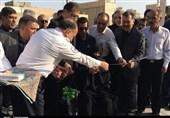 یزد  وزیر بهداشت هلیپد و پایگاه اورژانس شهید ذوالفقاری یزد را افتتاح کرد