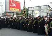 """لبیک """"یا حسین(ع)"""" مردم شهر هزارسنگر مازندران در تجمع بزرگ بصیرت عاشورایی"""