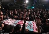 تجدید میثاق با شهید گمنام در حسینیه درکه + تصاویر