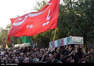 تشییع پیکر شهدا در مشهد