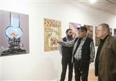ناخدا خورشید از نمایشگاه «گنج جنگ» بازدید کرد +عکس