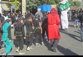 تهران| حرکت نمادین کاروان اسرای کربلا در اسلامشهر+فیلم